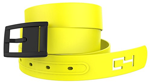 Make Your Own Minion Costume (Yellow Belt and Black Buckle. Great for Minion or Similar Halloween or Cosplay Costume)