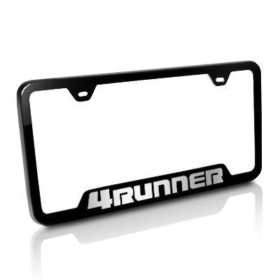 Amazon.com: Toyota 4Runner Black Steel License Plate Frame: Automotive