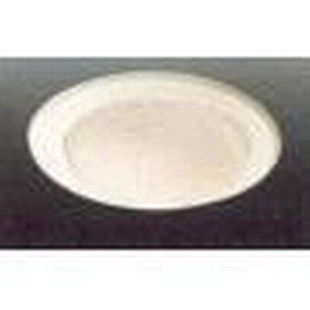 - VOLUME LIGHTING V8614-6 White Recessed Drop Opal Lens Trim