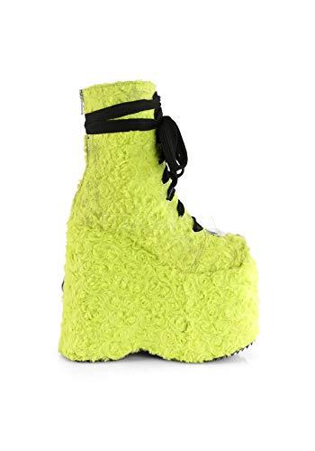 Slay Verde Eco Di pelliccia 206 Lime Demonia Uq1ZAW4wW