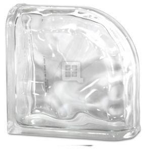 - 8 x 8 x 4 Decora Encurve Glass Block