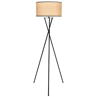 Brightech – Jaxon LED Tripod Floor Lamp – Mid-Century Charm with Contemporary Innovation – includes Brightech's LightPro LED 9.5-Watt Bulb