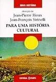 img - for Para uma Hist ria Cultural (Portuguese Edition) book / textbook / text book