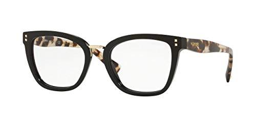 Valentino VA 3026 Black Havana 50/19/140 Women Eyewear ()