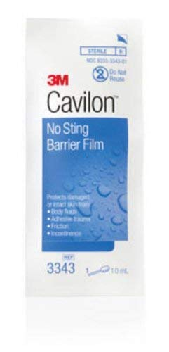 Special 1 Pack of 10 - 3M Cavilon No-sting Barrier Film MMM3343 ()