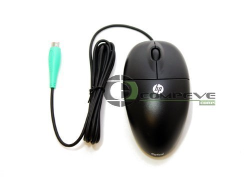 MOAFKOA New HP 537748-001 PS/2 PS2 Optical Two Button Scroll (Ps/2 Optical Mouse Mice)