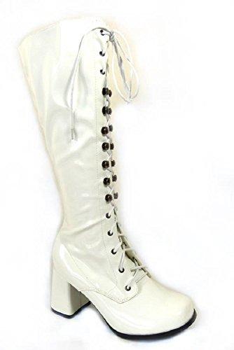 nbsp;diversi Stivali 37 38 taglia party Patent 60 40 41 per Go 36 White e retro modelli 70 da 11828 39 anni 35 stile donna Go RqrAZRw