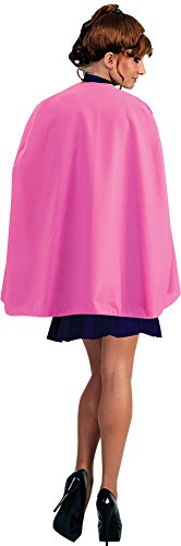 BESTPR1CE Womens Halloween Costume- Pink Superhero Cape Adult Costume 36 Inches -