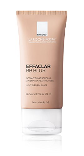 La Roche-Posay Effaclar BB Blur Instant Oil-Absorbing Coverage BB Cream with Mineral Sunscreen SPF 20