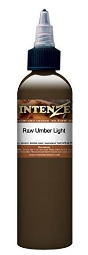 Intenze Tattoo Ink - Raw Umber - Light Demasi Series - 1oz Bottle