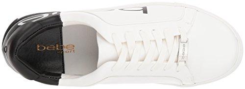 Charley Black bebe White Sneaker Women's 6qqXI5