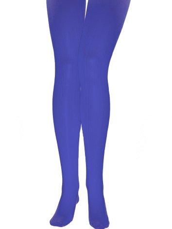 f7392b550 Carnaval des Déguisements - pantimedias azules adulto: Amazon.es ...