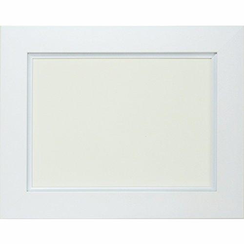 大額 油彩用額縁 3450 アクリル仕様 壁用フック付 (F10, ホワイト) B076PD273Nホワイト F10