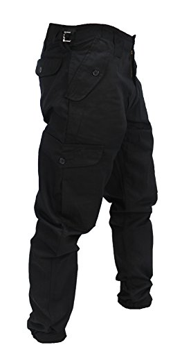 Army Combat Trousers (Duke and Twig Mens Army Combat Work Trousers Pants Combats Cargo by (48