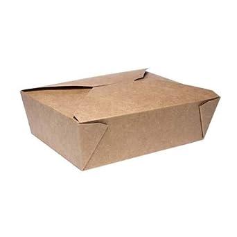No.3 - Caja de cartón para comida, 2, 500: Amazon.es: Industria, empresas y ciencia