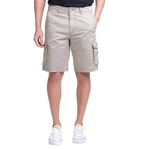 Unionbay Montego Cargo Shorts for Men Assorted Colors and Sizes - Comfort Stretch (38, -