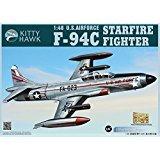 KH80101 1:48 Kitty Hawk F-94C Starfire Fighter US Air Force MODEL KIT ()