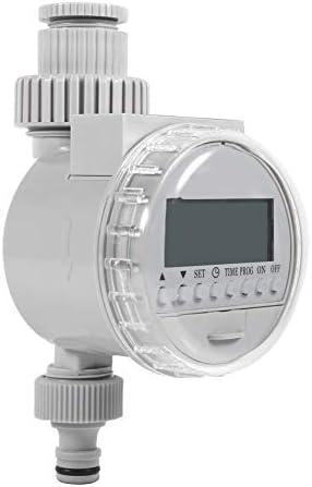 Wassertimer, MAGT Solar Power Auto Wasser Sparende Bewässerungssteuerung LCD Digital Elektronische Energiesparende Bewässerungsuhr For Den Hausgarten