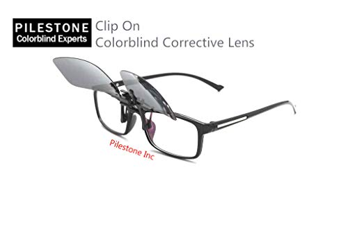 fb50ac388e52 TP-004 Color Blind Glasses  180° Flippable Clip On Dark Lens Colorblind  Correction - Buy Online in UAE.