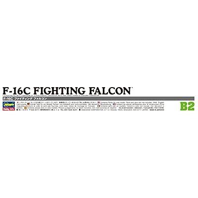 HASEGAWA 00232 1/72 F-16C Fighting Falcon: Toys & Games