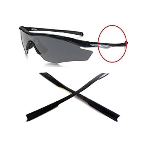 d74b180e0d0f Galaxy Ear Socks Rubber Kits For Oakley M2 Frame Sunglasses Black Color