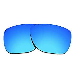 COLOR STAY LENSES 2.0mm Thickness Polarized Replacement Lenses for Oakley Crossrange XL OO9360 (Blue)
