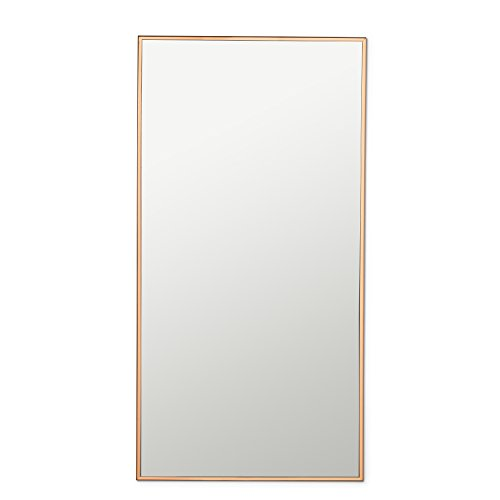 Abbott Collection 27-cu29/LG Slim Edge Espejo de pared grande