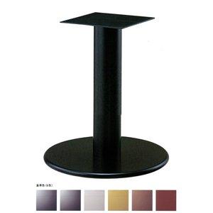 e-kanamono テーブル脚 ラウンドS7550 ベース550φ パイプ139φ 受座240x240 基準色塗装 AJ付 高さ700mmまで シルバーメタリック B012CF6J3C シルバーメタリック シルバーメタリック