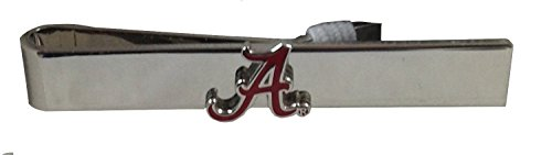 NCAA University of Alabama Crimson Tide Tie Bar (Tide Crimson Alabama Tie)