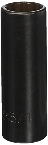 Stanley Proto J7324 1/2-Inch Drive Deep Impact Socket, 3/4-Inch, 12 Point