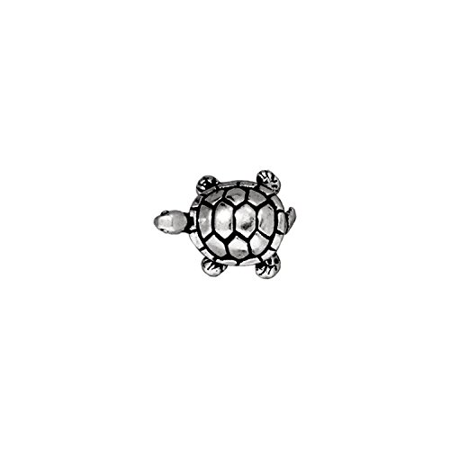 Pewter Turtle - TierraCast Turtle Bead