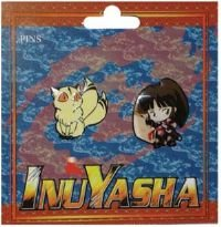 - Inu Yasha - Kirara & Sango Pins Set