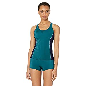 Nike Women's Color Surge Powerback Tankini Swimsuit Set