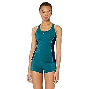 Nike Women's Color Surge Powerback Tankini Swimsuit Set