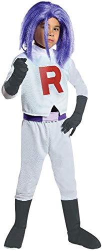 Buy rubie's pokemon team rocket james costume, small