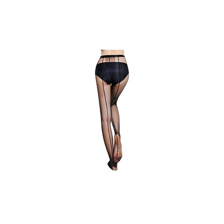 Toponly Women's Pantyhose, Women Sexy Sheer Pantyhose Silk Stockings Tights (fits S XXL)
