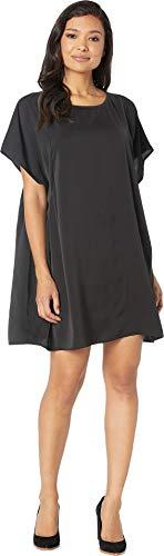 American Rose Women's Nema Short Sleeve Dress Black Small