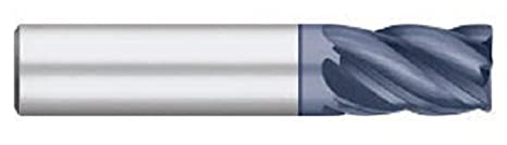 ALCRO-Max Coated 5 Flute 2-1//2 Overall Length 5//8 Length of Cut Titan TC25992 Solid Carbide VI-Pro Variable Index End Mill Stub Length Corner Radius 1//2 Shank Diameter