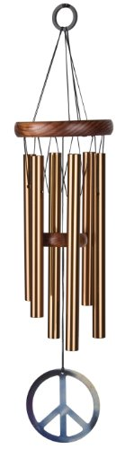 Woodstock Bronze Peace Chime- Décor Designs Collection