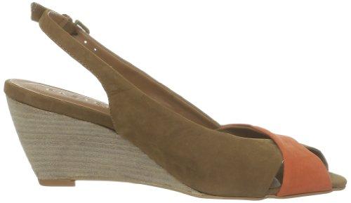 Pastelle Lainy Damen Sandalen Beige - Beige (Camel/Taupe/Orange)