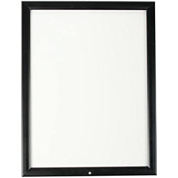 this item displays2go wcw1824bk outdoor snap poster frame 18 x 24