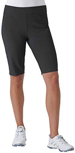 adidas Golf Women's Adistar Bermuda Shorts, Black, Small by adidas