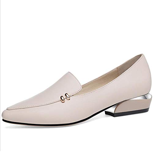 Spring XUE Casual Loafer Breathable amp; Formal B Shoes Driving Shoes on Slip Summer Women's Work Business Size Large Shoes Leather rtRt7
