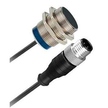 Telemecanique psn - det 30 10 - Detector inductivo cilíndrico contacto cerrado diámetro 30mm corriente alterna/c: Amazon.es: Bricolaje y herramientas