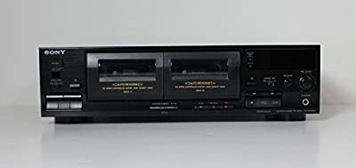 Sony TC-WR465 2 Deck Tape Stereo Cassette Dual Deck Player from Sony