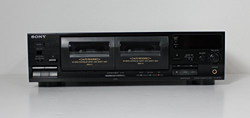 Sony TC-WR465 2 Deck Tape Stereo Cassette Dual Deck Player (Auto Player Reverse With Cassette)