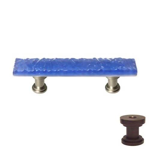 Sietto SP-219 Skinny Glacier 3 Inch Center to Center Bar Cabinet Pull, Oil Rubbed Bronze (Cabinet Sp Bronze)