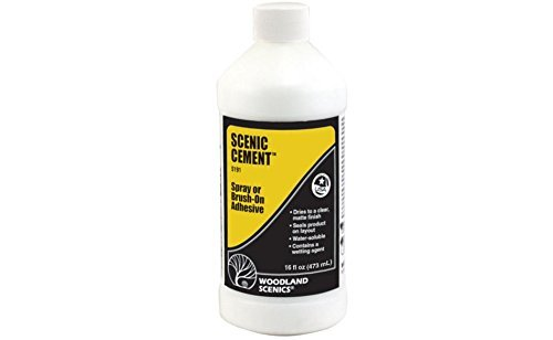 Scenic Cement (16 oz.) by Woodland Scenics