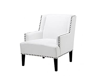 Casa-Padrino Designer Art Deco Club Armchair White - Luxury ...