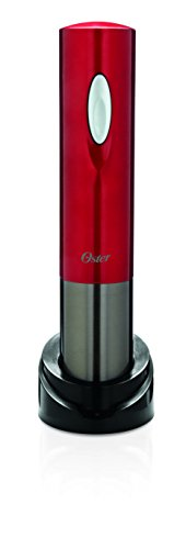 Oster FPSTBW8220 Electric Wine Opener, Metallic Red by Oster (Image #1)